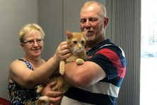 Buttons finds a home!